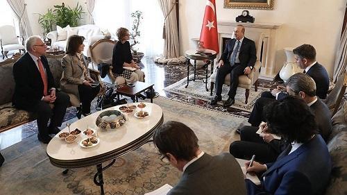 BMT rəsmisi Türkiyəyə gəldi