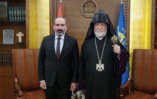 Erməni katolikosdan Qarabağla bağlı işğal çağırışı
