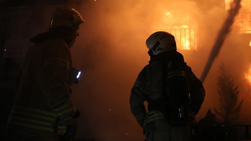 Astarada ev yandı: 1 nəfər yanaraq öldü