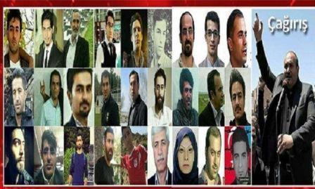 ایران حبسخانالارینداکی گونئیلی فعاللار – آدلار