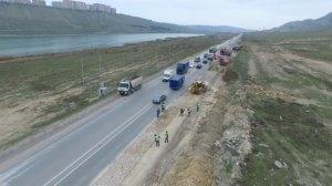 Xocasən-Lökbatan yolu bərpa olunur - Video