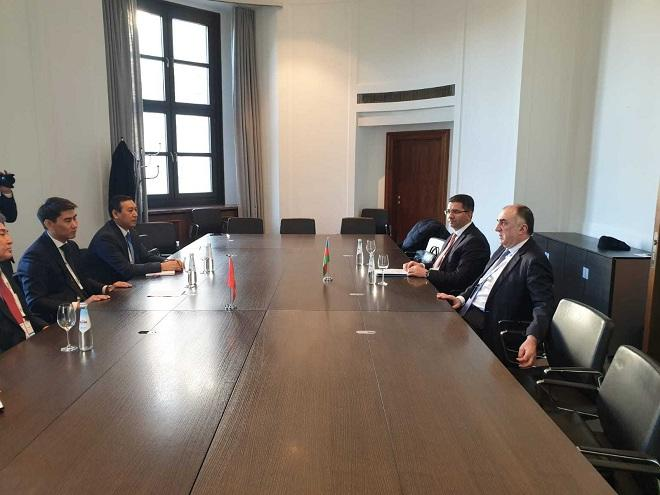 Azerbaijani, Kyrgyz FMs mull preparations Turkic Council summit