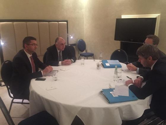 Elmar Mammadyarov meets with German Federal Chancellor