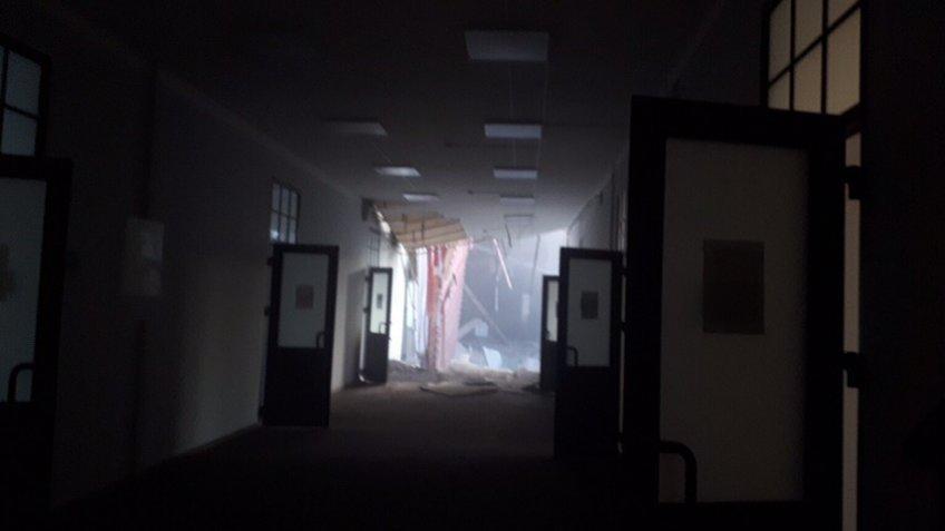 Rusiyada universitet binası uçdu: 21 nəfər dağıntılar altında - Foto