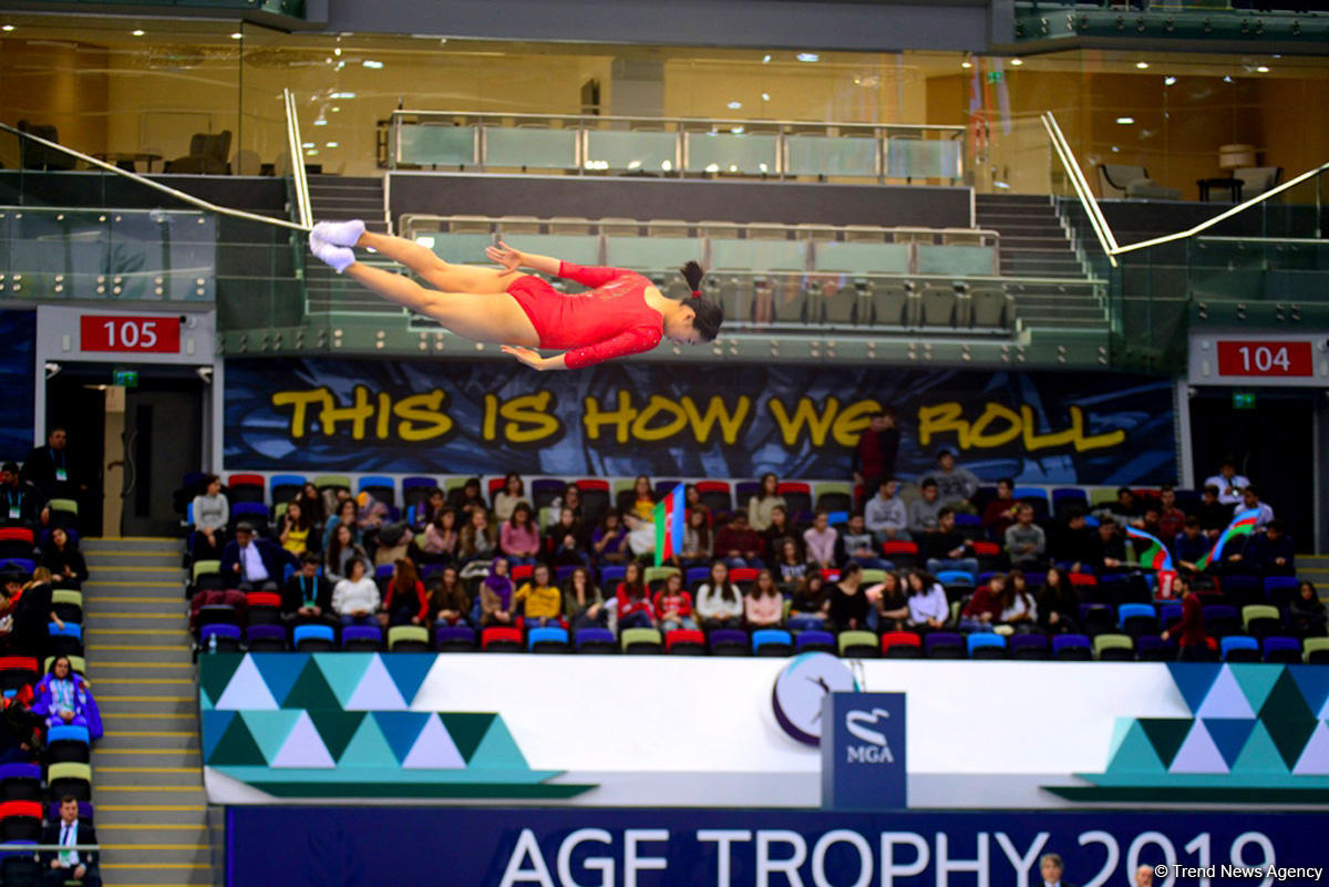 Finalists of trampoline competitions named synchronous program