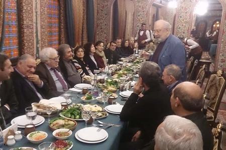 Şok: İbrahimbəyov Bakıda: verdiyi qonaqlığa kimlər gəldi?  - Foto