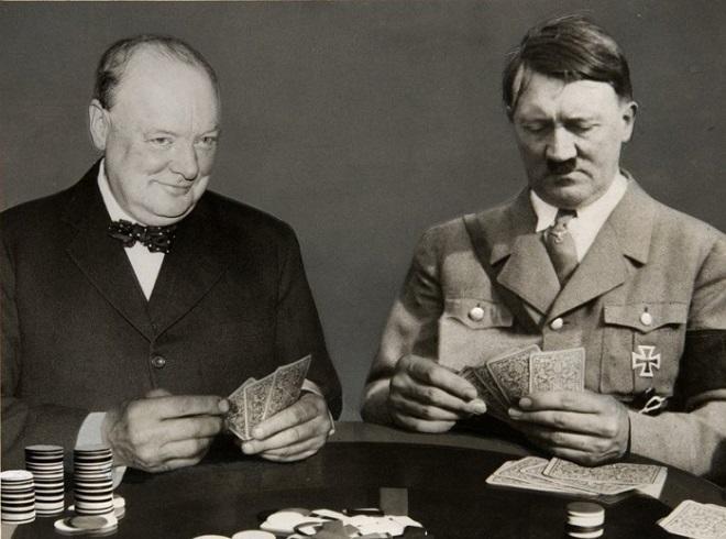 Между Черчиллем и Гитлером небольшая разница