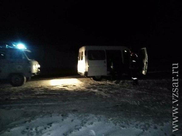 Rusiyada azərbaycanlıların olduğu avtobus yolda qaldı