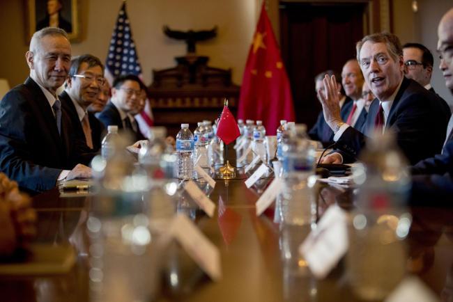 New round of U.S. - China trade talks