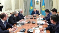 Назарбаев принял главу «Лукойла» Вагита Алекперова