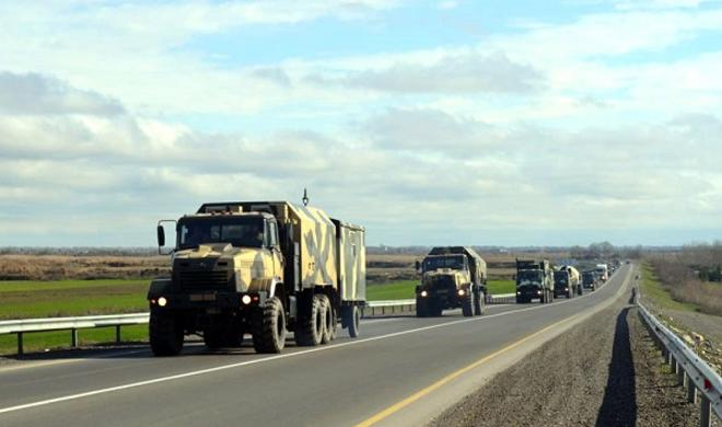 Our army is taken to the operational areas -