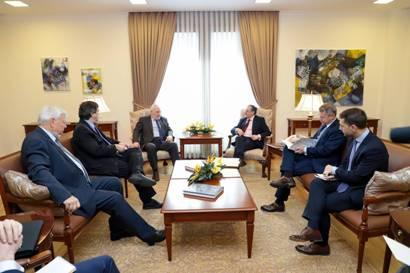 Armenian Foreign Minister met with co-chairs of Minsk Group