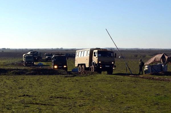 Ordumuz həyəcan siqnalı ilə qaldırıldı - Foto