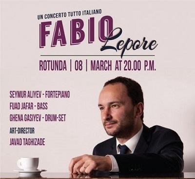 Italian jazz musician Fabio Lepore to perform in Baku