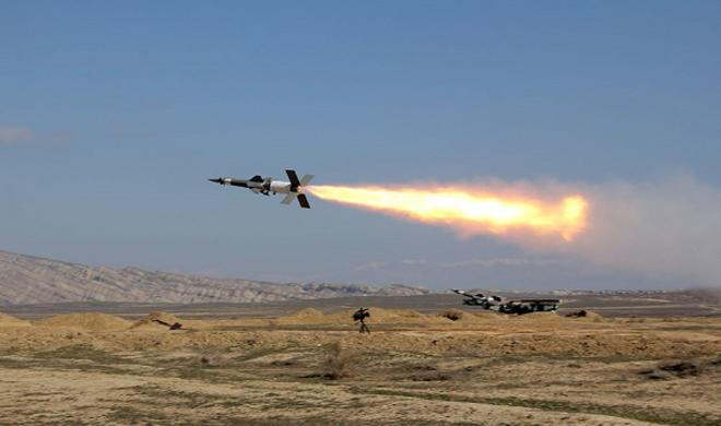 Air Defense units conducted live-fire exercises