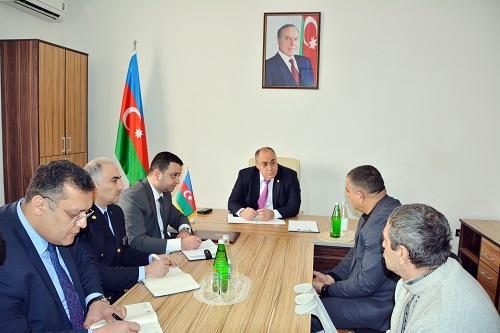 Səfər Mehdiyev Ağsuya getdi - Foto