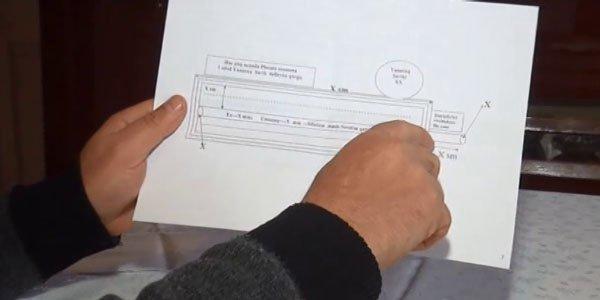 Dünyada ilk: Yevlaxlı müasir silahın sxemini hazırladı - Video