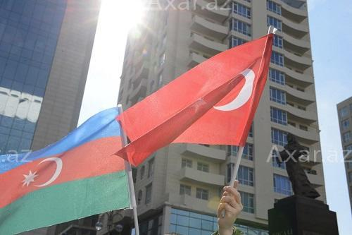 Turkish students' love for Azerbaijan -