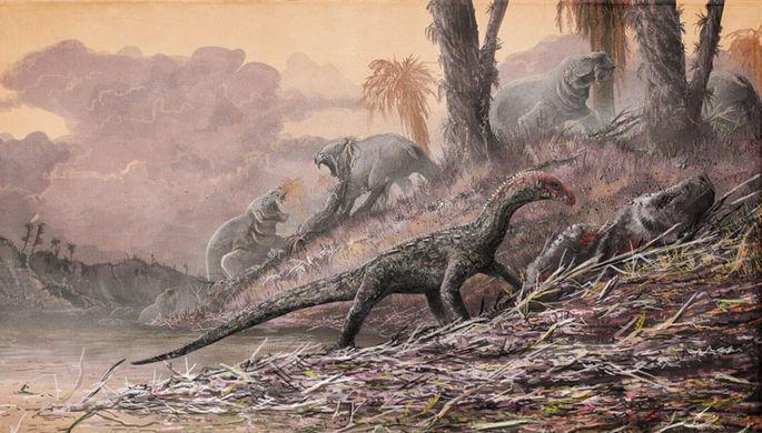 В Таиланде обнаружены останки нового вида динозавров