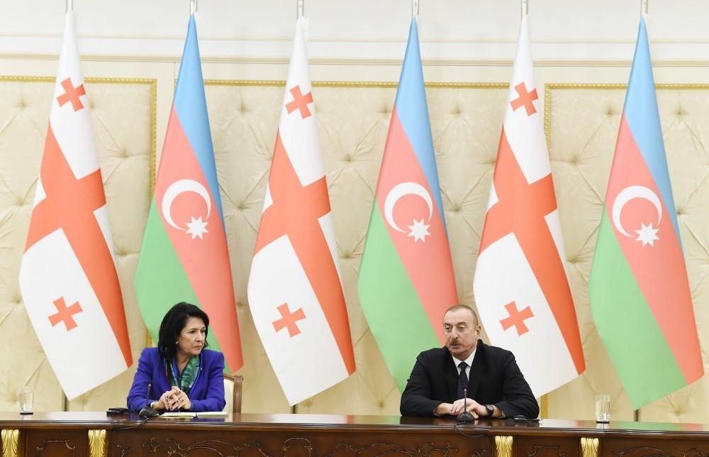 Ilham Aliyev congratulated Zurabishvili