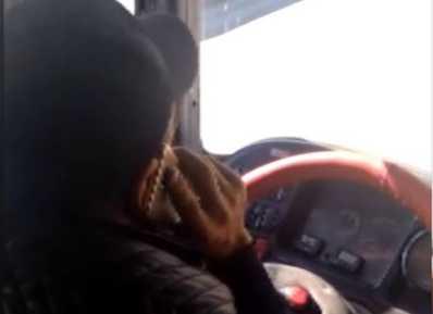 """Bakıda """"patı"""" çəkən avtobus sürücüsü həbs edildi"""