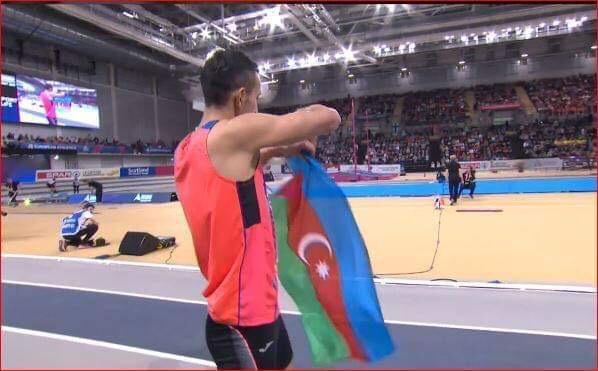 Azərbaycanlı atlet Avropa çempionatının finalında