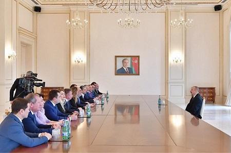 Prezident yəhudi nümayəndə heyətini qəbul etdi -