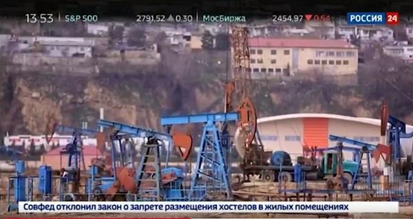 """""""Rossiya 24""""-də """"Bakı barreli"""" - Video"""