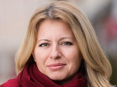Slovakia's first female president sworn in