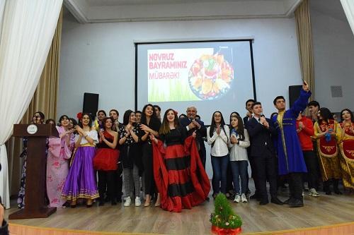 """ADU-da """"Multikultural Novruz bayramı"""""""