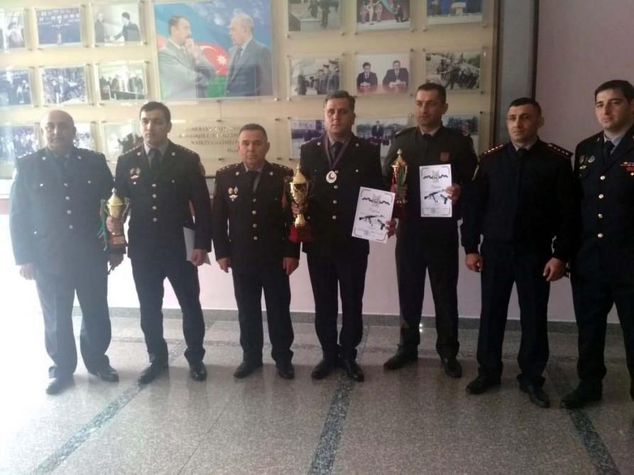 Polislər arasında atıcılıq çempionatı keçirildi - Foto