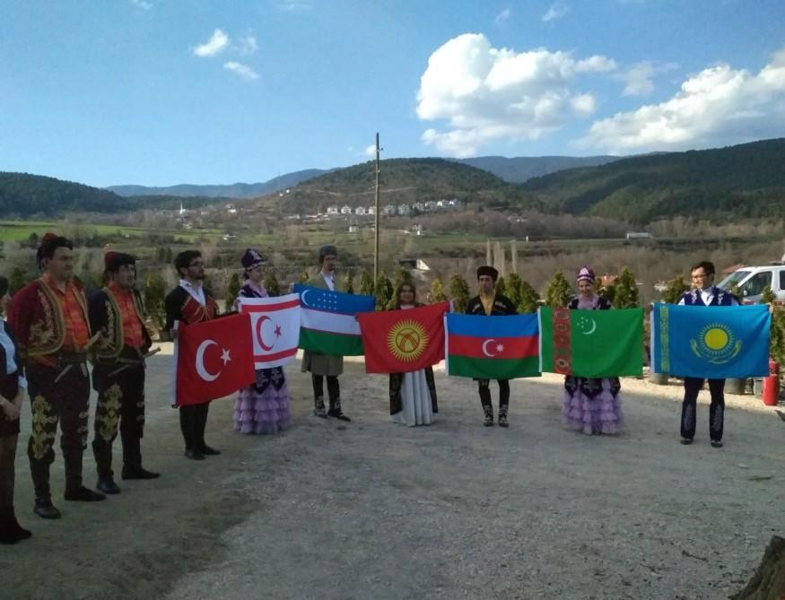 Türkiyədə Koroğlunun nəhəng abidəsi açıldı