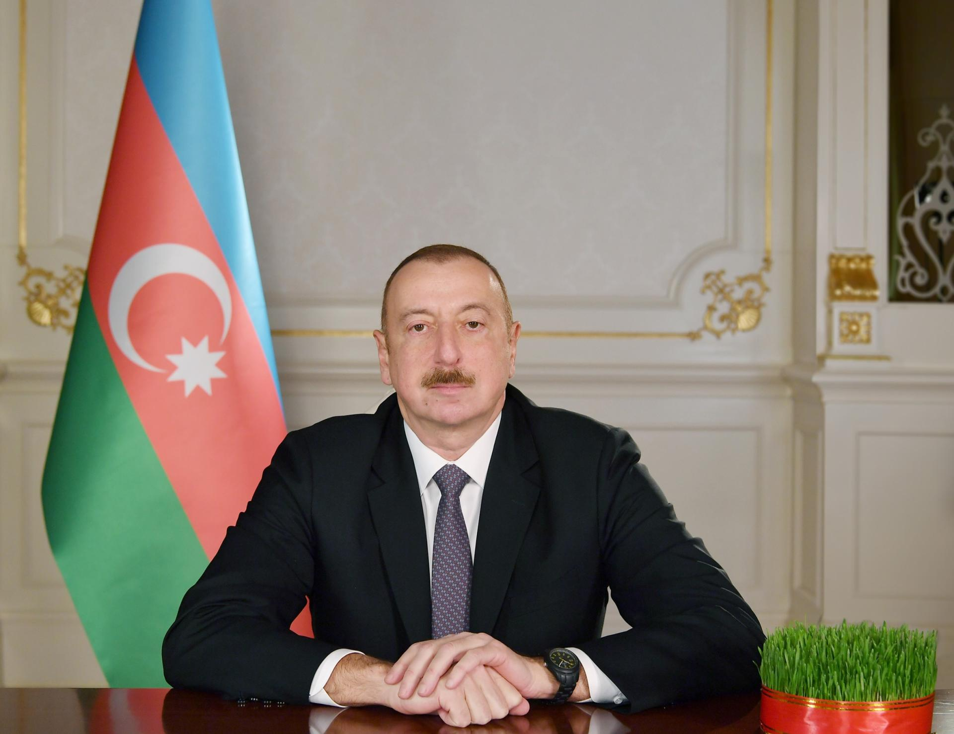 Ilham Aliyev allocates funding construction of road in Gazakh