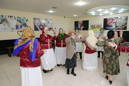 Sosial xidmət müəssisəsində Novruz şənliyi - Foto
