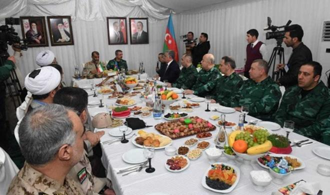 General celebrated Novruz with Iranian counterpart -
