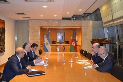 Mammadyarov meets with Argentinean couterpart