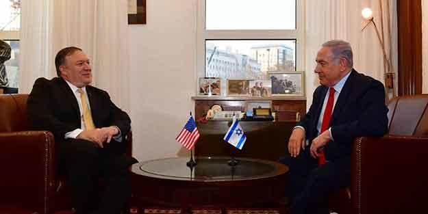 Pompeo Netanyahu ilə görüşdü: Dəstək olacağıq