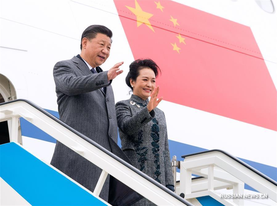 Си Цзиньпин прибыл в Италию