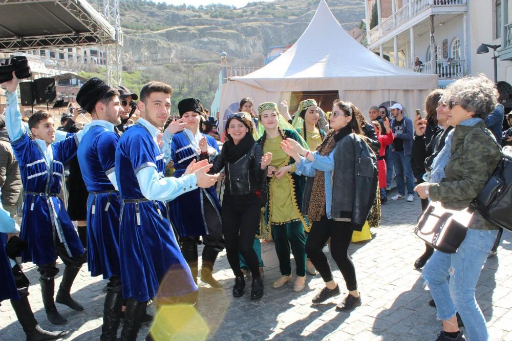 Tiflisdə Novruz şənliyi - Foto
