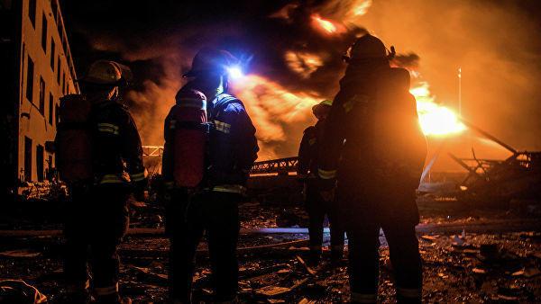 Взрыв на химзаводе в Китае: есть пострадавшие