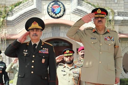 Azerbaijan, Pakistan mull development of military cooperation