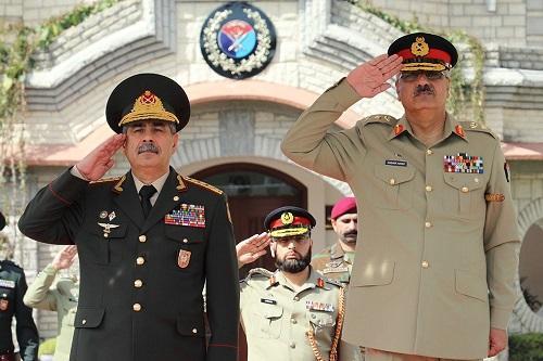 Azerbaijan, Pakistan mull development of military cooperation