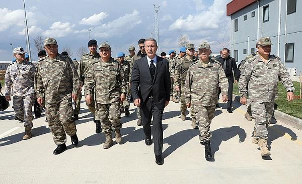 Turkish generals on the border: Base strikes -