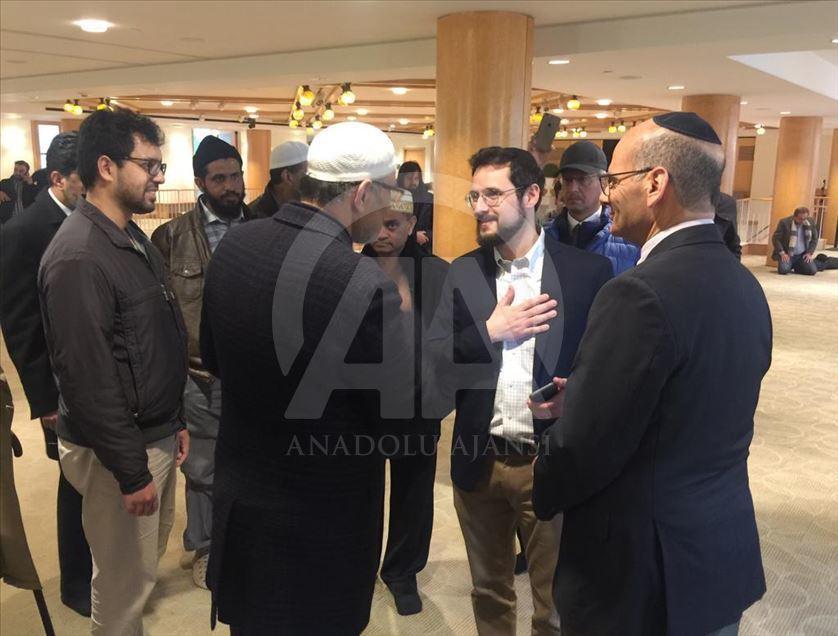 Мусульмане и иудеи в Нью-Йорке помолились под одной крышей
