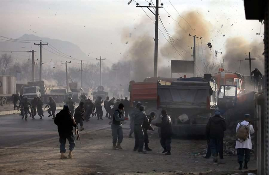 Seven killed in Afghanistan stadium explosions -