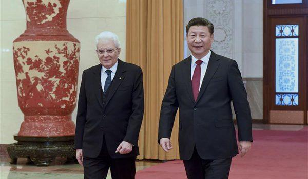 Вашингтон недоволен связями Рима с Пекином