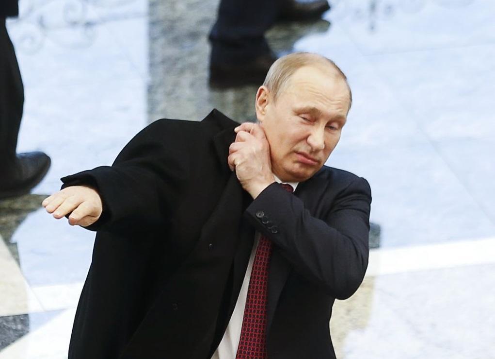 Как Путин готовится к мероприятиям