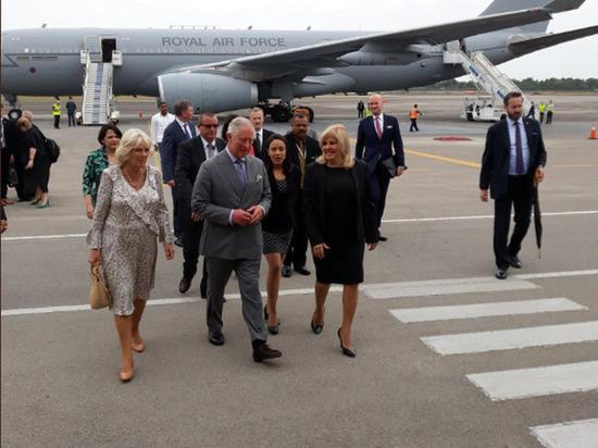 Принц Чарльз прибыл с историческим визитом на Кубу