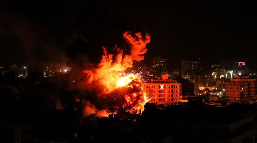 ХАМАС нанес удары по нескольким городам Израиля