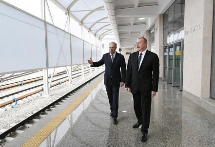Президент ознакомился с условиями на станции «Бакмил»
